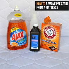 Removing pee stains, going to try this for my stupid cats