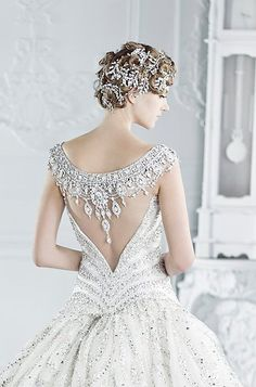 Gorgeous bridal gown ✿⊱╮