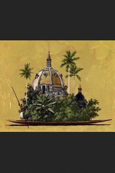 Pedro Ruiz (b. 1957, Bogotá, Colombia) Paintings: Acrylics, Resin on Canvas
