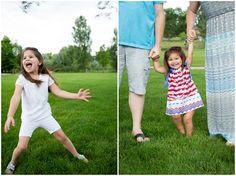 Loveland family photos at Benson Sculpture Garden.  Colorado family photographer Plum Pretty Photography.