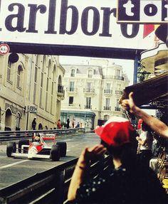 Senna at Monaco - oldridez Mclaren F1, Automobile, F1 Racing, Car In The World, Car And Driver, Formula One, Top Gear, Motogp, T 4