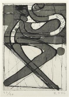 X By Richard Diebenkorn ,1986
