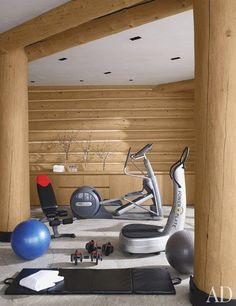 Things We Love: Fitness Rooms