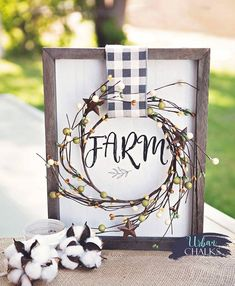 Create this beautiful Farm House Inspired board for your home or for a gift! Made by Urban Chalks. Create this beautiful Farm House Inspired board for your home or for a gift! Made by Urban Chalks. Chalk Crafts, Wood Crafts, Paper Crafts, Houston, Chalk Design, Country Farmhouse Decor, Primitive Country, Country Crafts, Farmhouse Ideas