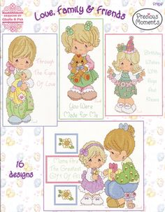 PM64 contains 16 Counted Cross Stitch Designs.