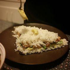 More wasabi/mayonnaise #foodporn #asianfood #sushi #cake