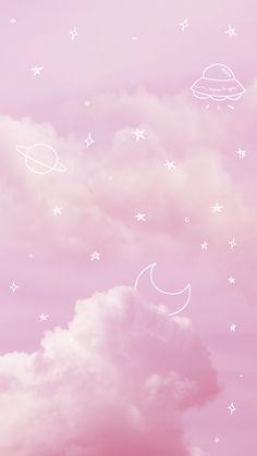 wallpaper pastel wallpaper Wallpaper Pink Sky by Pink Sky PinkSky Space Aesthetic Pastel Stars Moon Wallpaper Cute 675680750330381248 Pastell Wallpaper, Pink Clouds Wallpaper, Phone Wallpaper Pastel, Pink Wallpaper Backgrounds, Aesthetic Pastel Wallpaper, Iphone Background Wallpaper, Kawaii Wallpaper, Galaxy Wallpaper, Aesthetic Wallpapers