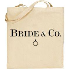 Bachelorette Bridal Party Tote Bag Bride & Co Wedding by IDoTotes, $16.00