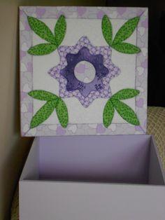 Caixa Patch Floral