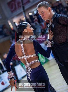 XIV Spanish Open 2012, Salou - WDSF Rising Star Amateur Latin [love the back design, elongates and flatters]