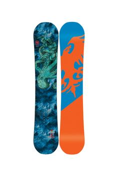 The kids can have as much fun as you, maybe more, even kick your butt down the slopes all thanks to the Never Summer Junior Evo Mini Snowboard. Say goodbye to that cute little squirt you call child now they're little ripper and they're riding away