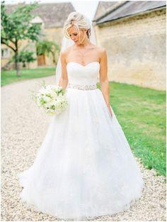 Beautiful wedding dress - UK Fine Art Photographer