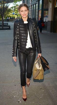 The Olivia Palermo Lookbook : Olivia Palermo in New York City.