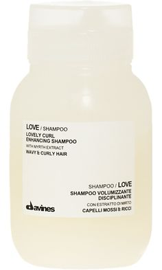 Davines Love Shampoo - one of Emma Stone's Favorites