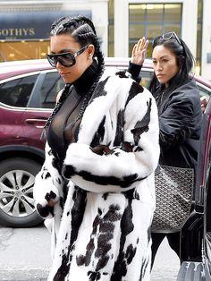 Kim Kardashian Customized Couture