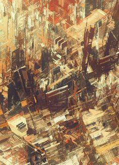 Cities IV / Deconstructed - atelier olschinsky