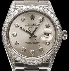 New Rolex Watches for Women   Rolex Luxury watch for Women with Full Crystal