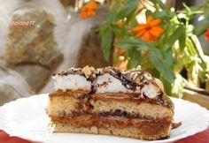 Glutén- és cukormentes grillázskrémes torta   Nosalty Healthy Sweets, Tiramisu, Banana Bread, Ethnic Recipes, Tej, Dios, Clean Eating Sweets, Tiramisu Cake
