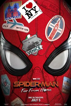 The Spider-Man: Far From Home movie trailer sees Tom Holland return as Peter Parker to kick off Phase 4 of the Marvel Cinematic Universe. Jake Gyllenhaal, Kino Box, All Spiderman, Spiderman Poster, Spiderman Pictures, Films Marvel, Film Gif, Film Movie, Kino Film