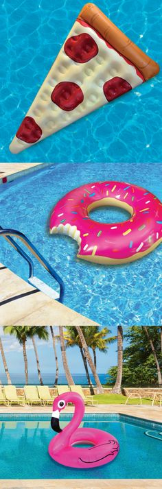 Fun pool floats for the Summer!