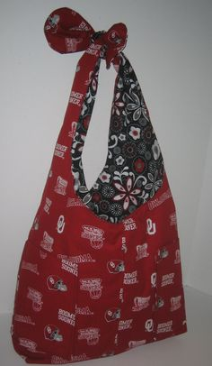 The University of Oklahoma OU Sooners Tote Bag by CheriesPlace 29cedd6e279c4