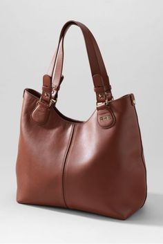 c7d9288cb298 Women s Landmark Monona Shopper from Lands  End - really like this style  and color. I will have to look for a similar leather bag at Marshalls for  cheaper.