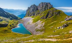 Photographie du jour : Heart Of The Alps - Tyrol Heart Pictures, Heart Images, Nature Images, Nature Photos, Bigfoot Pictures, Water Shape, Dont Break My Heart, Travel The World Quotes, Heart In Nature