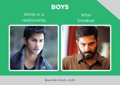 While in a relationship Vs After breakup Desi Jokes, Expectation Vs Reality, Breakup, Quote Of The Day, Attitude, Funny Pictures, Life Quotes, Inspirational Quotes, Humor