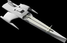 Trimaran motorboat / stabilized monohull - Page 2 - Boat Design Forums