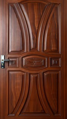 Door Design And Price In Pakistan Wooden Front Door Design, Garage Door Design, Wooden Front Doors, Modern Wooden Doors, Bedroom Door Design, Door Design Interior, Single Main Door Designs, Hallway Designs, Modern Design