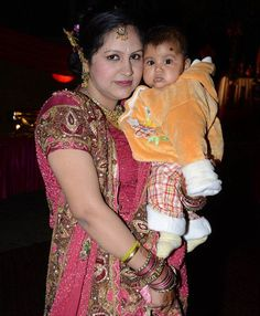 Indian wife dies and baby daughter suffers horrific burns after husband 'set them on fire as they slept over dowry dispute'  Pravartika Gupta and 13-month-old Idika were attacked at their Delhi home  Technology graduate died in hospital a week later and baby has 55% burns  Before she died, Mrs Gupta gave statement to police  Detectives are hunting husband and father-in-law, who are on the run