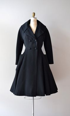 1950s princess coat