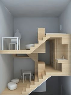 compact vertical living