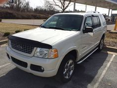 Make:  Ford Model:  Explorer Year:  2004   Exterior Color: White Interior Color: Black Vehicle Condition: Good    Phone:  423-773-8146   For MOre Info Visit: http://UnitedCarExchange.com/a1/2004-Ford-Explorer-713825544496