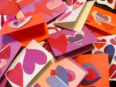 Paint Chip Valentines!