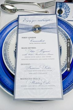 wedding dinner place settings | Visit weddingpins.net