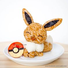 Go eat'em all: Care for some Pokemon rice balls? Cute Food, Yummy Food, Kawaii Cooking, Cute Bento Boxes, Japanese Food Art, Kawaii Bento, Food Art For Kids, Bento Recipes, Rice Balls