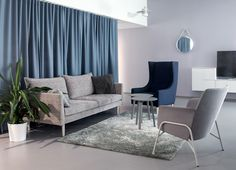 Villa Huvi supported housing design by Sistem Interior Architects
