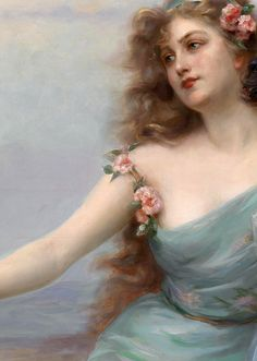 """The Three Graces"" (1899) (detail) by Edouard Bisson (1856-1908)."