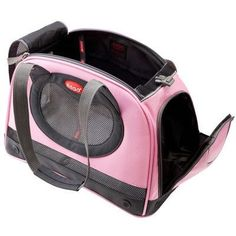 The Petaboard Pet Purse is a stylish carrier for your small dog or cat offering hands free portability. Larger than your average purse style pet carrier.