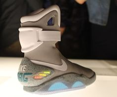 Nike designer says self-lacing 'Back to the Future' shoes will arrive in 2015