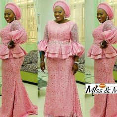 Image may contain: 3 people Best African Dresses, African Lace Styles, African Traditional Dresses, Latest African Fashion Dresses, Ankara Styles, African Wedding Attire, African Attire, African Wear, African Women