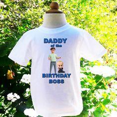 Boss Baby Father Of The Birthday Boy Custom Shirt BB003