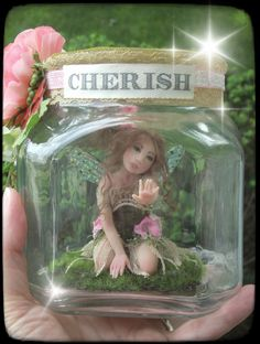 OOAK Captured Fairy