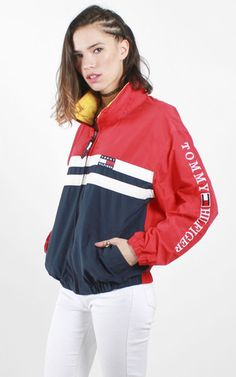 Vintage Tommy Windbreaker Jacket