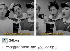 Yongguk...... #funny #bap #bangyongguk