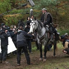 Dougal leads the pack on a trek through the clan lands. #OutlanderSeries #STARZ from Outlander_Starz instagram