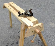 "The origin of this project was that I saw an April Wilkerson woodworking YouTube video where she made an endorsement of the Rockwell JawHorse as a great gift for anyone who was a woodworker. Given that both my father and brother are also woodworkers and I was looking for ideas of what to get them for Christmas, I thought ""Ah ha! Perfect!"" ... until I looked at the price and saw that buying two of those would blow out my Christmas budget. Okay, no problem. I've still got ..."