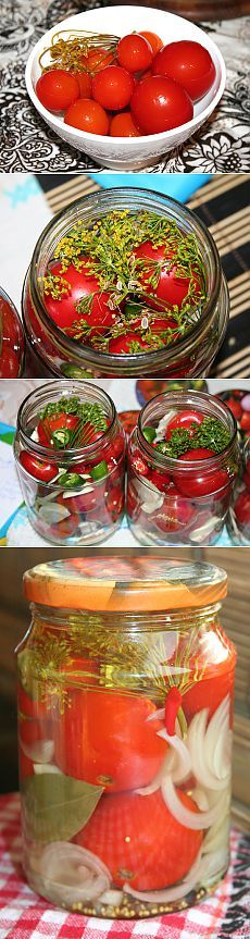 Сахарные помидоры « Пьяный повар Jam And Jelly, Home Canning, Kimchi, Conservation, Preserves, Pickles, Dips, Food And Drink, Vegetables