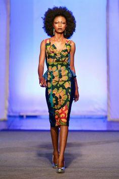 Krizz Ya @ Kinshasa Fashion Week 2013 | FashionGHANA.com (100% African Fashion)FashionGHANA.com (100% African Fashion)